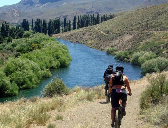 Bike trails in Argentina